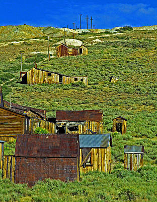 Photograph - Bodie Forgotten by Joseph Coulombe