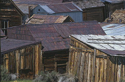 Photograph - Bodie Forms In Decline by John Farley