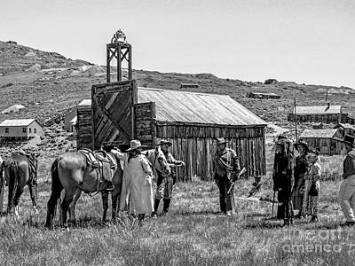 Balck Art Photograph - Bodie Ghost Town by Keith Ducker