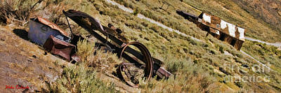 Photograph - Bodie Ghost Town Old Parts by Blake Richards