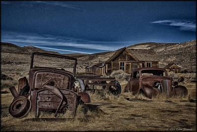 Photograph - Bodie Ghosttown by Erika Fawcett