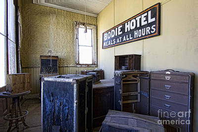 Photograph - Bodie Hotel by Crystal Nederman
