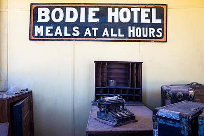 Photograph - Bodie Hotel by Priya Ghose