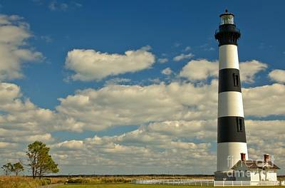 Photograph - Bodie Island Light by Adam Jewell