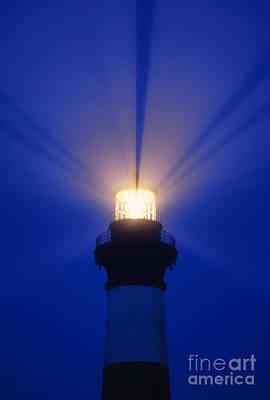 Photograph - Bodie Island Light - Fs000226 by Daniel Dempster