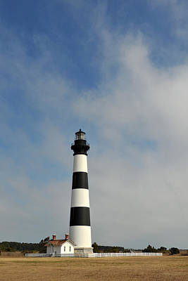 Photograph - Bodie Island Light by John Jacquemain