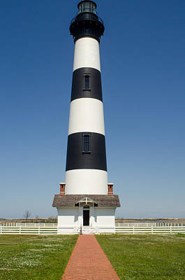 Brian Rock Wall Art - Photograph - Bodie Island Light Station by Brian Rock