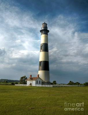 Photograph - Bodie Island Lighthouse 2 by Mel Steinhauer