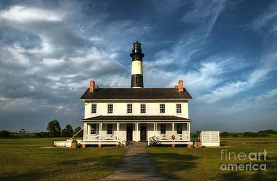 Photograph - Bodie Island Lighthouse 3 by Mel Steinhauer