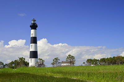Photograph - Bodie Island Lighthouse by Allen Beatty