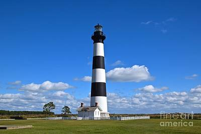 Photograph - Bodie Island Lighthouse by Eve Spring