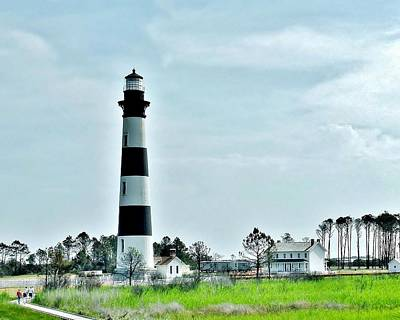 Photograph - Bodie Island Lighthouse - Outer Banks North Carolina by Kim Bemis