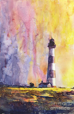 Bodie Island Lighthouse Art Print by Ryan Fox