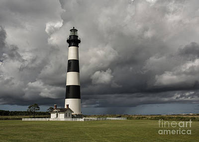 Photograph - Bodie Island Lighthouse Stands Tall by Terry Rowe