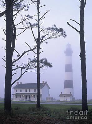 Photograph - Bodie Island Mist - Fm000079 by Daniel Dempster