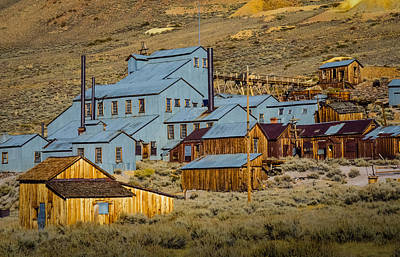 California Tourist Spots Photograph - Bodie by Janis Knight