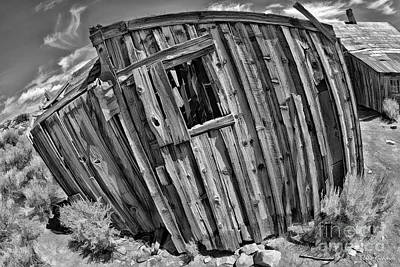 Photograph - Bodie Leaning Building by Blake Richards