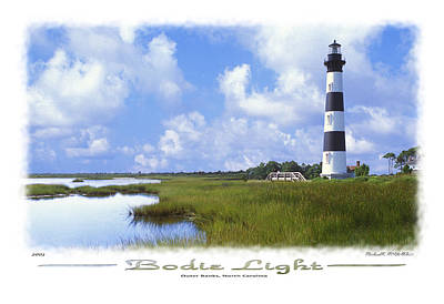 Lighthouse Digital Art - Bodie Light  S P by Mike McGlothlen