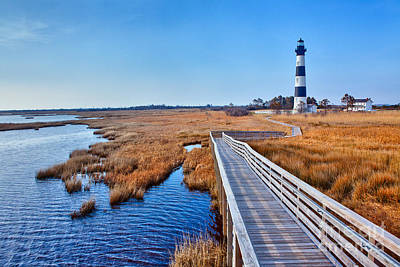 Bodie Lighthouse Outer Banks North Carolina I Art Print