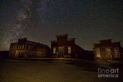 Photograph - Bodie Main Street by Crystal Nederman