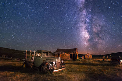 Bodie Nights Art Print