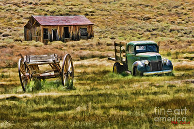 Photograph - Bodie Old Times Color by Blake Richards