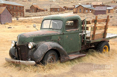 Photograph - Bodie Relic by Frank Townsley