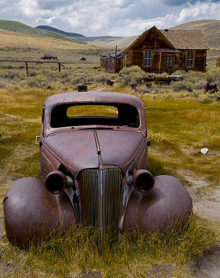 Bodie Rest Stop Art Print by Jim Snyder