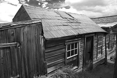 Bodie Row House Art Print by Jim Snyder