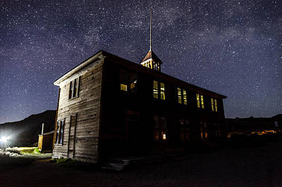 Photograph - Bodie Schoolhouse by Cat Connor