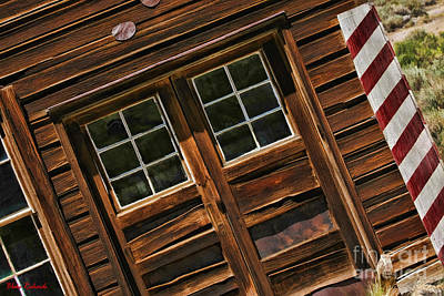 Photograph - Bodie Striped Walled Building by Blake Richards
