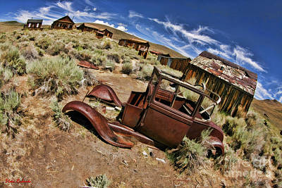 Photograph - Bodie The Ghost Town by Blake Richards