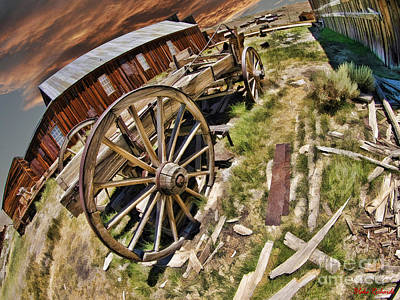 Photograph - Bodie Wagon by Blake Richards
