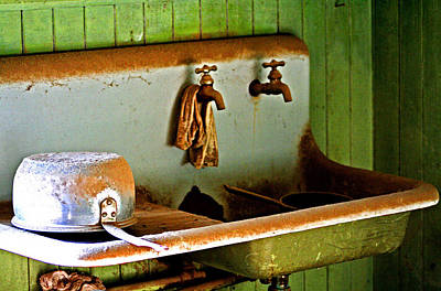 Photograph - Bodie Water Fixtures by Joseph Coulombe