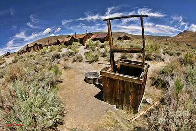 Photograph - Bodie Well Color by Blake Richards