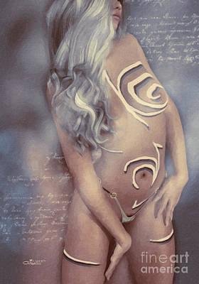 Digital Art - Body And Soul by Jutta Maria Pusl
