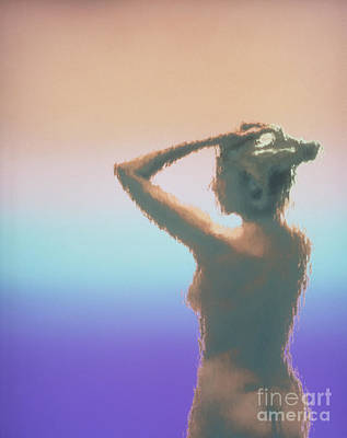 Middle Aged Female Nude Photograph - Body At Menopause by Bill Longcore