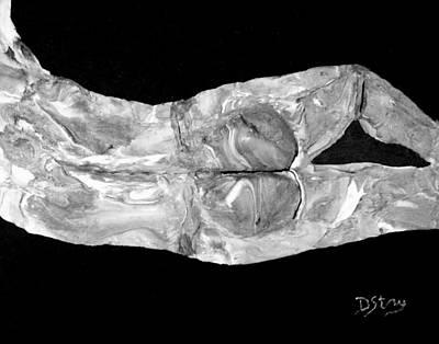 Mixed Media - Body At Rest by Deborah Stanley