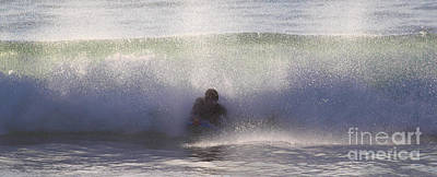 Photograph - Body Boarding by Nicholas Burningham