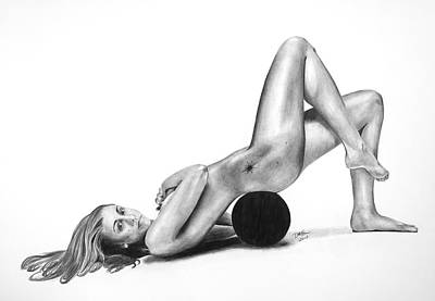 Drawing - Body By Taurasi by Devin Millington