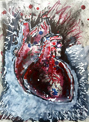 Painting - Body - Expose Your Heart by Michael Rados