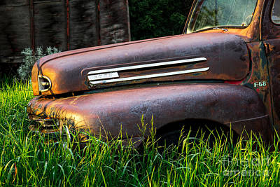 Lancer Photograph - Body Needs Work But Doesnt Run At All by Royce Howland