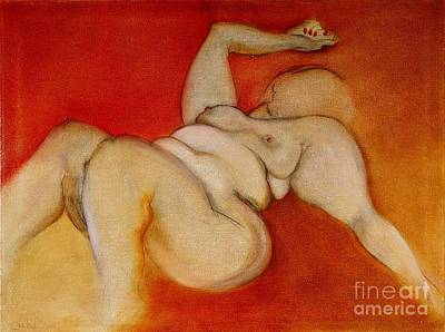 Painting - Body Of A Woman by Carolyn Weltman