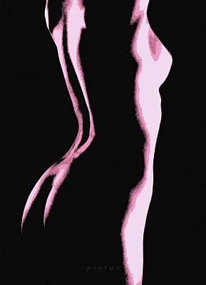 Body Waves 5 Art Print by Piety Dsilva