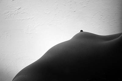 Nude Naked Female Nipple Women Breast Photograph - Bodyscape by Joe Kozlowski