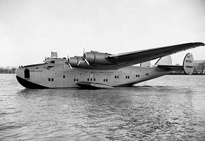 Business Beauties Photograph - Boeing 314 Clipper 1939 by Mountain Dreams