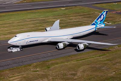 Photograph - Boeing 747-8f by John Ferrante