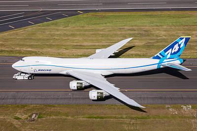 Photograph - Boeing 747 by John Ferrante