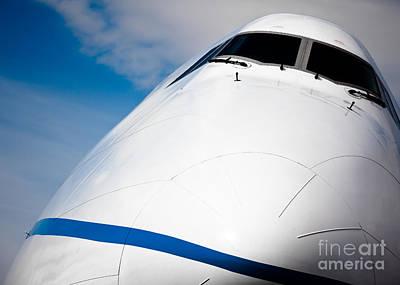 Boeing 747 Print by Rastislav Margus