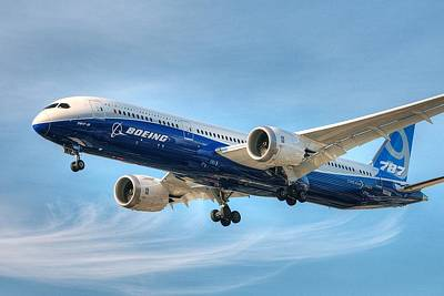 Art Print featuring the photograph Boeing 787-9 Wispy by Jeff Cook